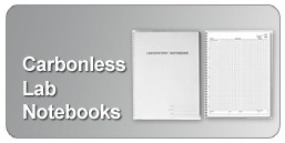 carbonless lab notebooks